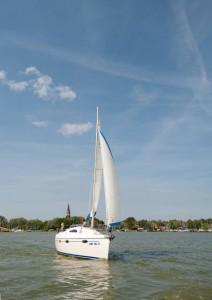 Yacht vor Wustrow