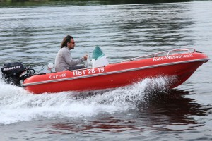 Motorboot 20 PS klein